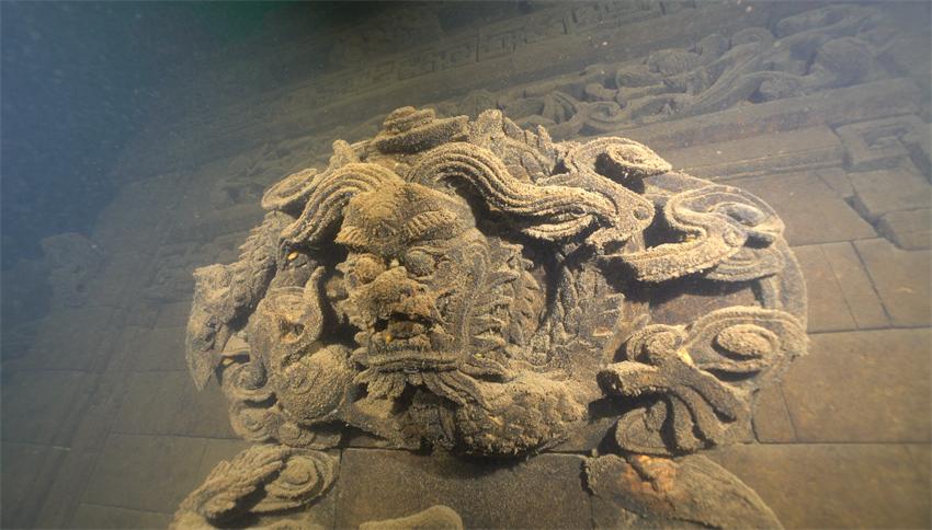 古建筑雕刻 龙头